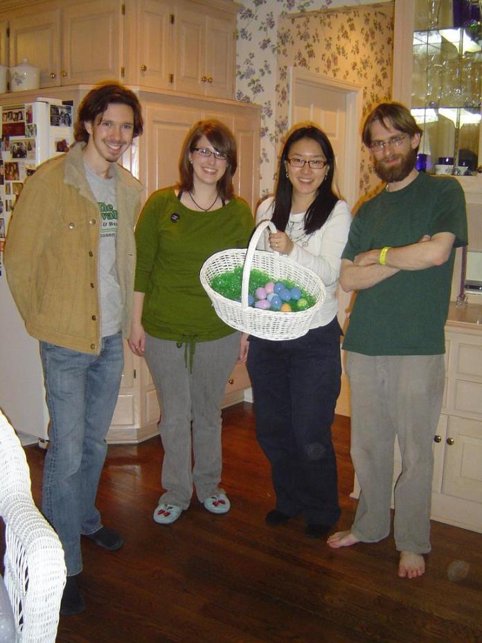 we are team blue eggs
