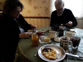 st. patrick's day scone breakfast.
