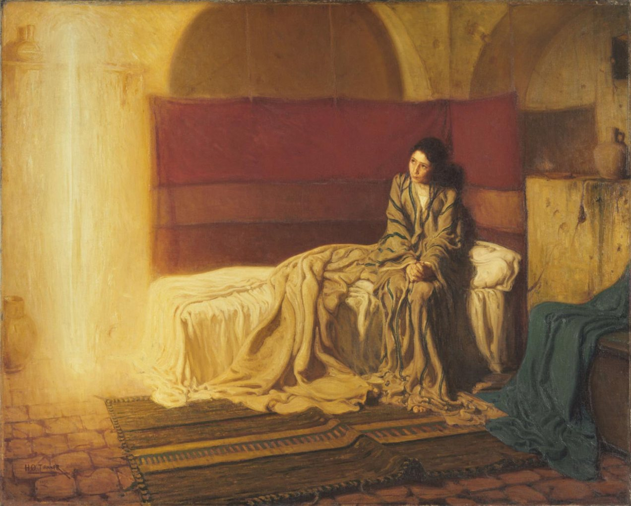 the annunciation, henry ossawa tanner, the philadelphia museum of art